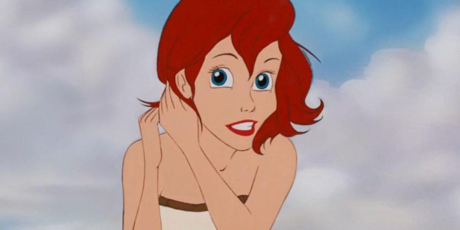 """Ariel de """"La Sirenita"""". Foto:thenamelessdoll.tumblr.com"""