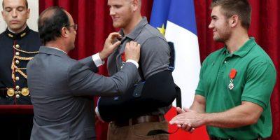 """Según información del diario """"The Local"""", un quinto hombre también apoyó pero prefirió mantenerse en el anonimato. Foto:AFP"""