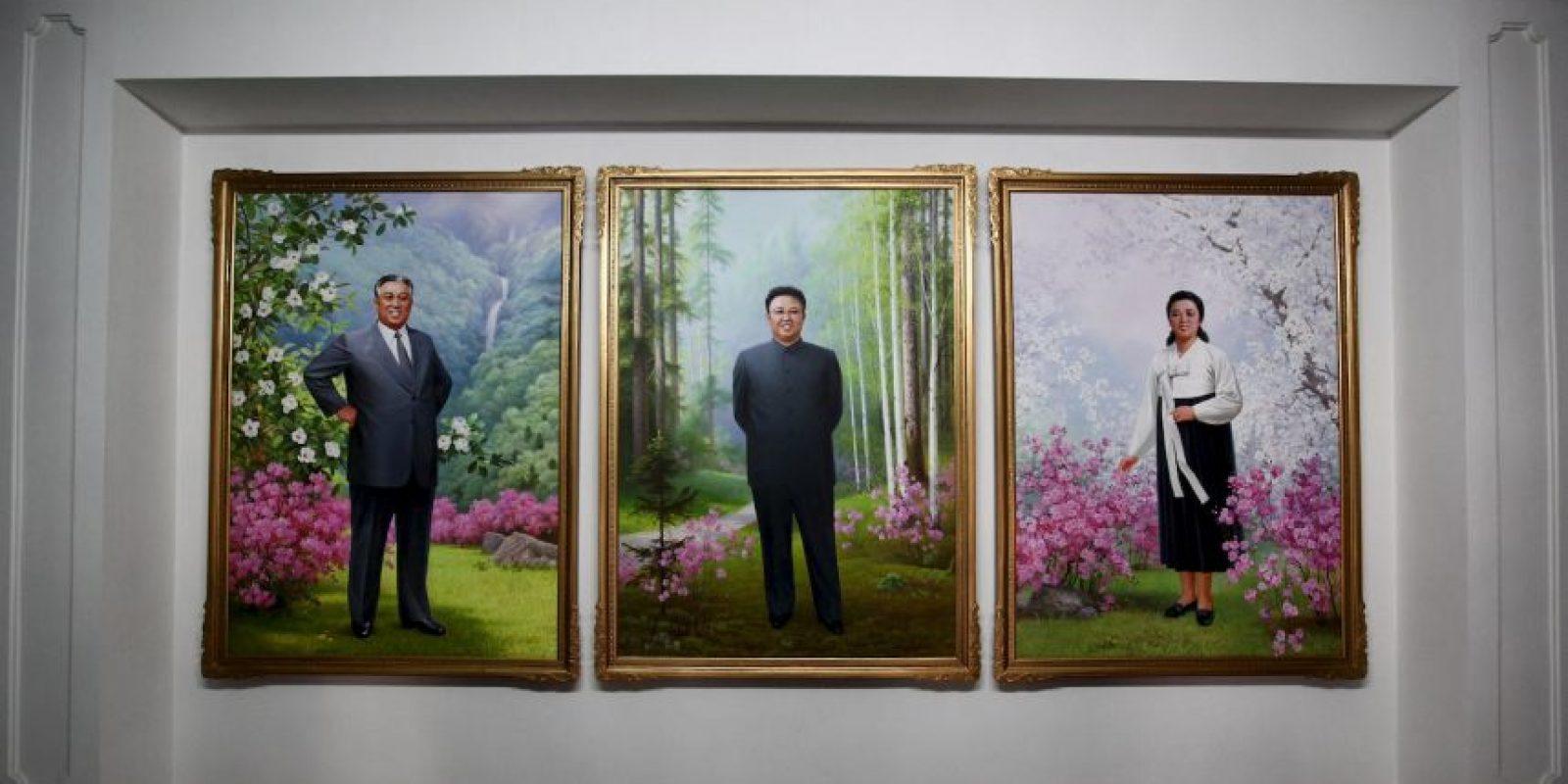 """Y su lema es: """"Poderosa y próspera gran nación"""". Foto:Getty Images"""