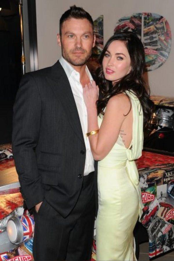 Luego de retomar su noviazgo con Fox, en junio de 2010 la pareja dio el sí en el altar Foto:Getty Images