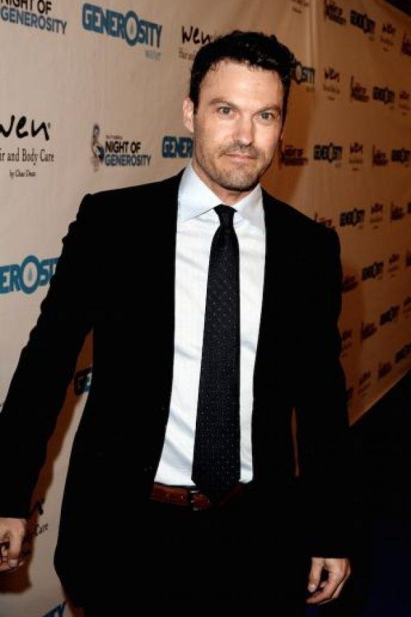 """El actor saltó a la fama con la serie de la década de los años 90, """"Beverly Hills 90210"""". Foto:Getty Images"""