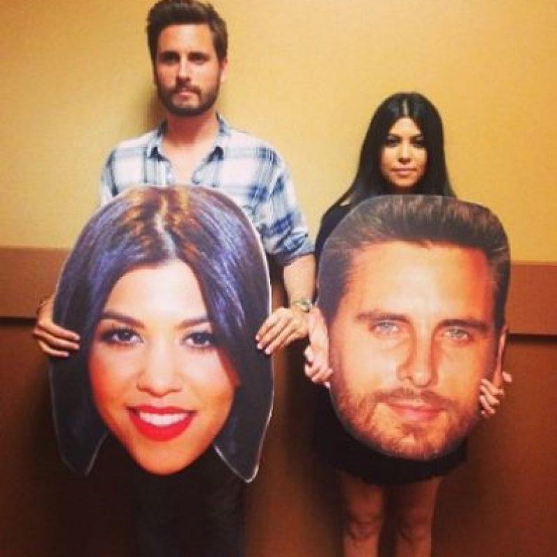 No es actor, cantante o modelo pero se convirtió en una celebridad de la televisión al formar una familia con Kourtney Kardashian. Foto:vía instagram.com/letthelordbewithyou