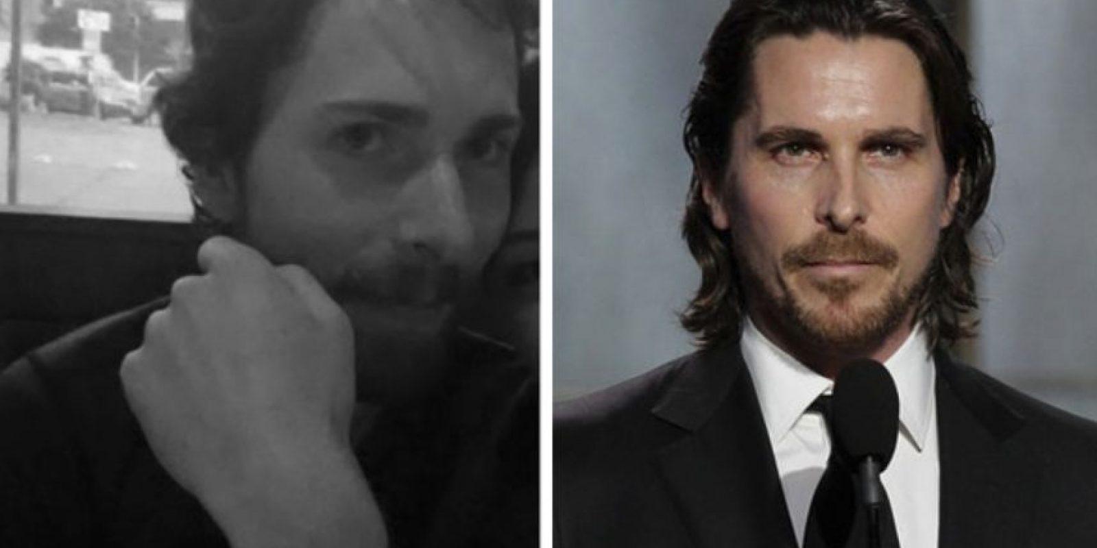 Igual a Christian Bale Foto:Imgur/Getty