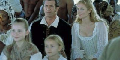 "Mel Gibson interpretó a ""Benjamin Martin"", un coronel veterano de la Guerra frando-india. Foto:IMDb"