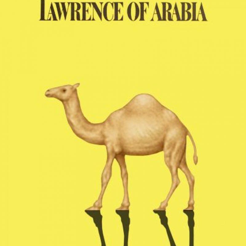 Lawrence de Arabia (1962). Foto:vía emojifilms.tumblr.com