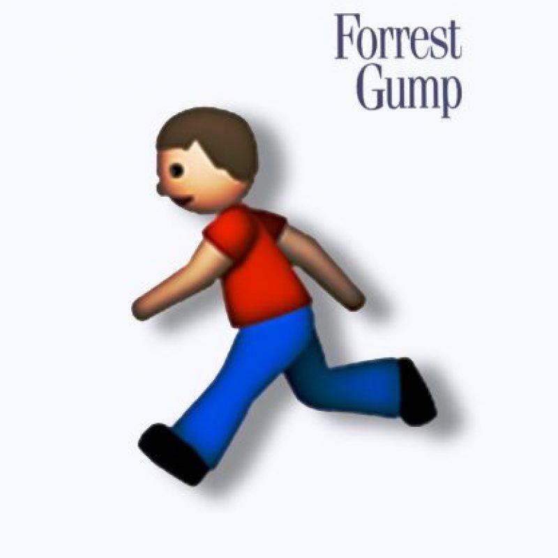 Forrest Gump (1994). Foto:vía emojifilms.tumblr.com