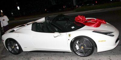El Ferrari originalmente era blanco. Foto:Grosby Group