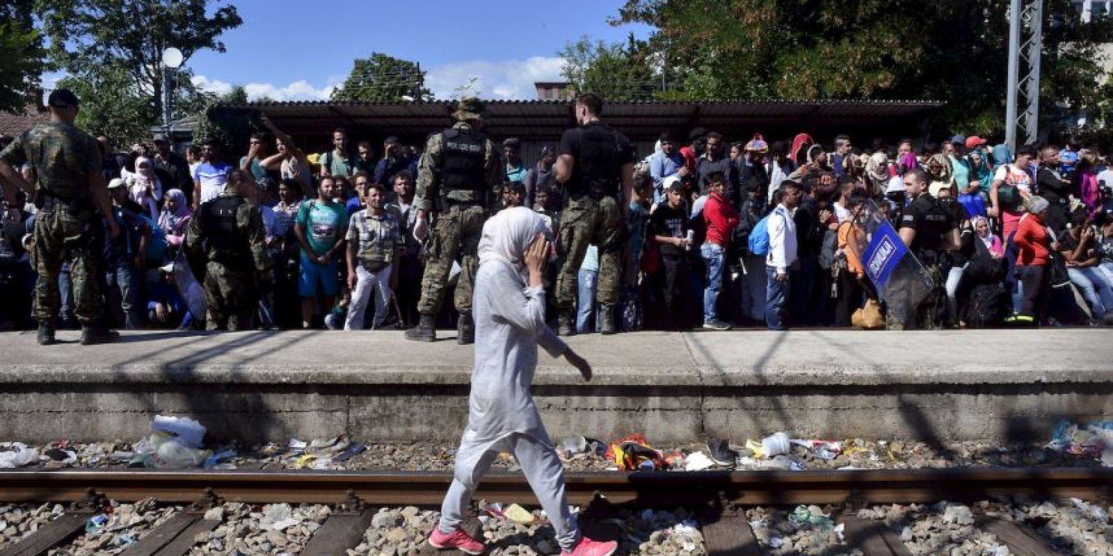 De acuerdo a la Agencia de la ONU para los Refugiados (ACNUR), en 2014 el número de refugiados a nivel mundial ascendió a 59.5 millones de persona, cifra que sobrepasa al número de desplazados de la Segunda Guerra mundial, que fue de aproximadamente 50 millones. Foto:Getty Images