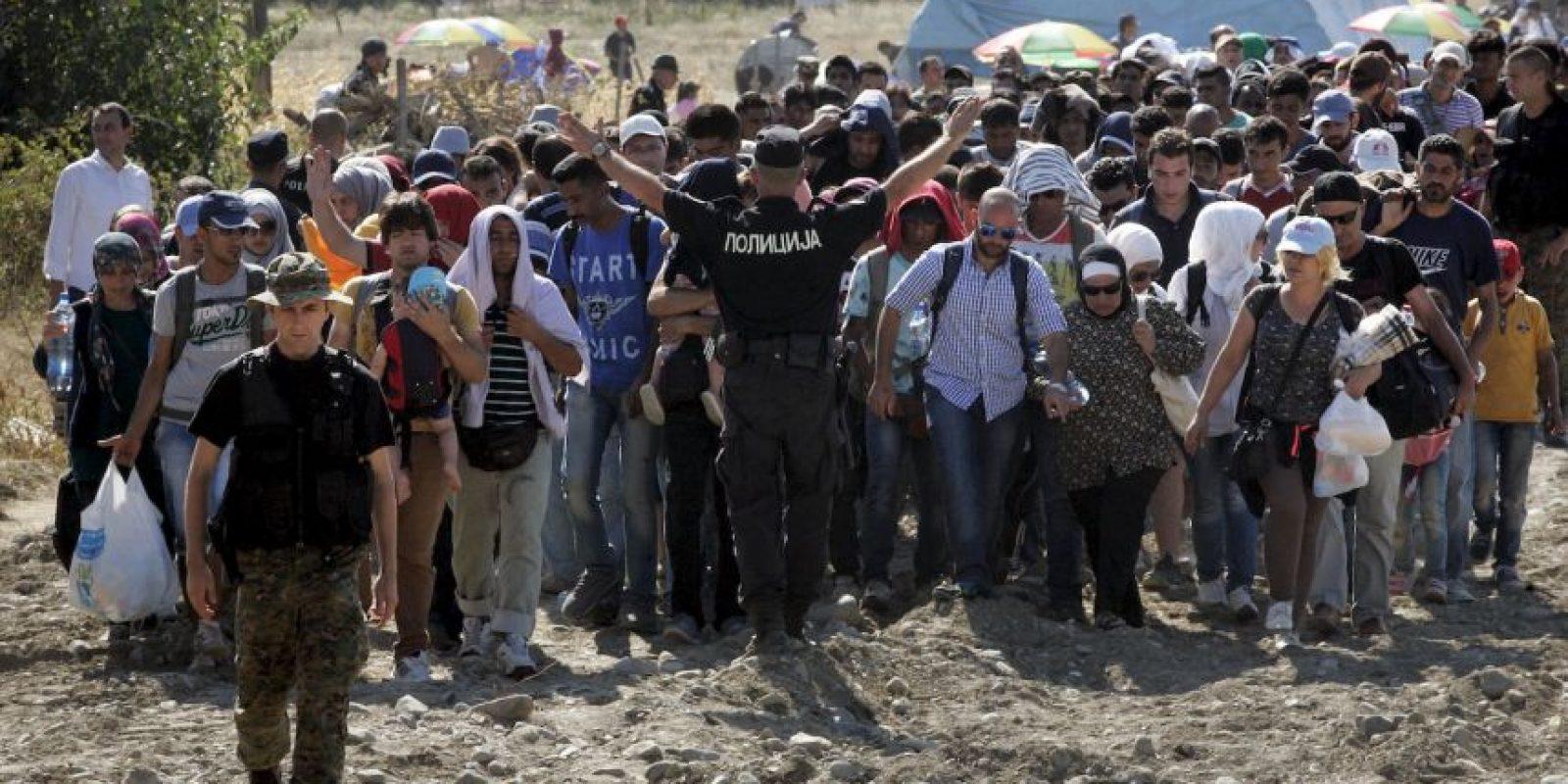 Asimismo, se indicó que todas las personas fueron rescatadas en buen estado de salud. Foto:Getty Images