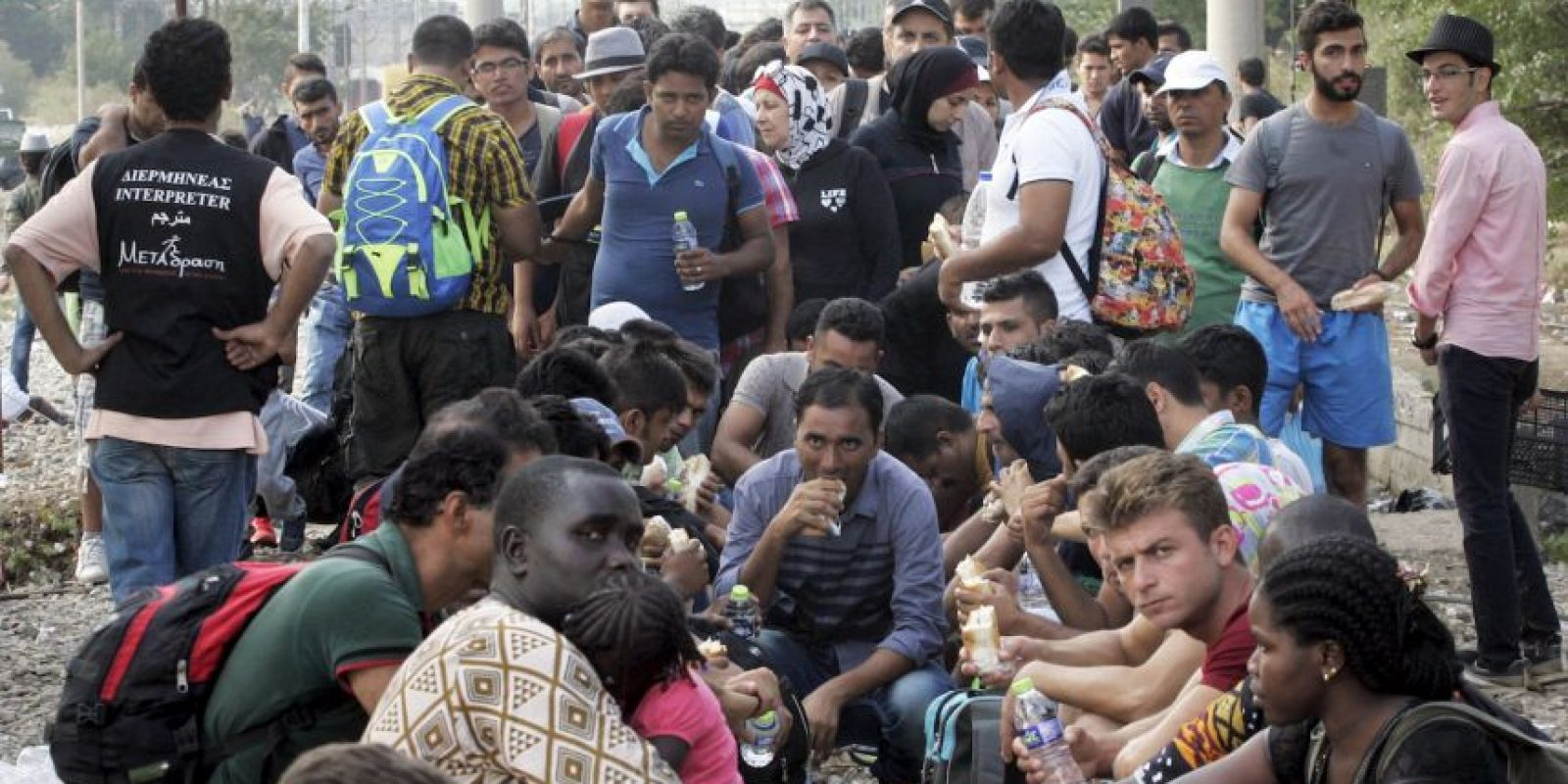 Esta cifra continúa en crecimiento, pues miles de migrantes llegan a Europa cada semana. Foto:Getty Images