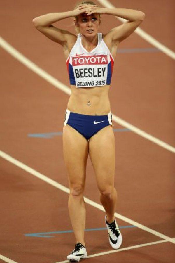 La británica de 25 años compite en los 400 metros con obstáculos Foto:Getty Images