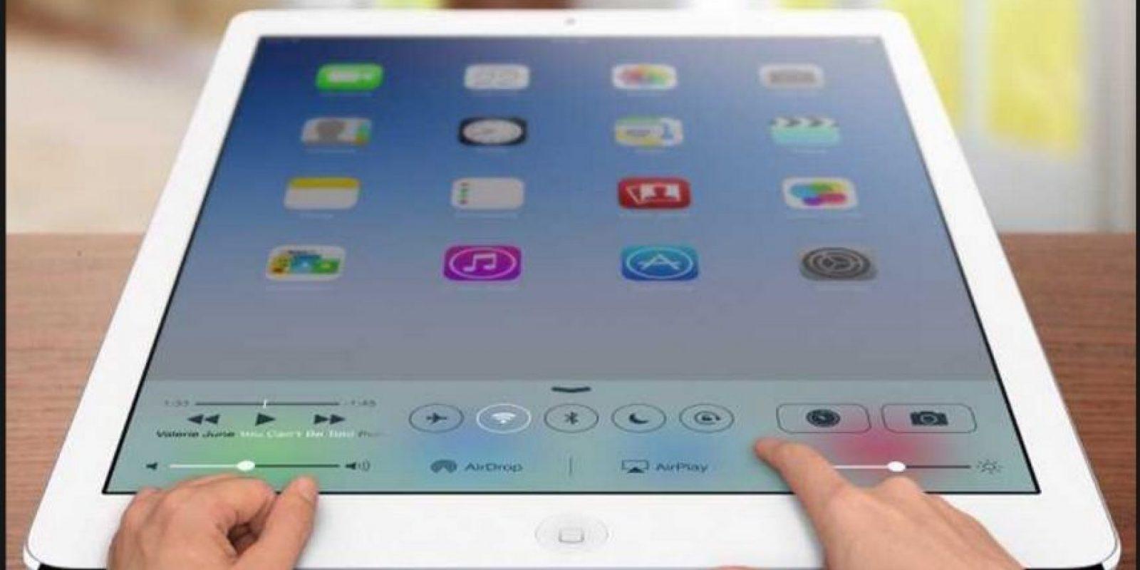 Así imaginan los fanáticos la próxima tablet de Apple Foto:Tumblr