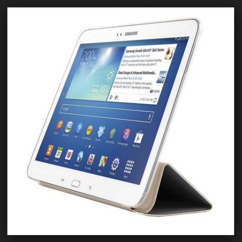 Y una ranura microSD, además de una batería de 5700 mAh Foto:Samsung