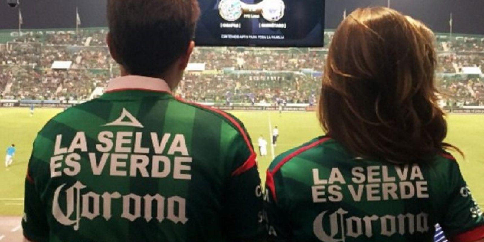 Acompañó al Gobernador de Chiapas en varios eventos oficiales como el grito de independencia Foto:Vía instagram.com/anahiofficial/