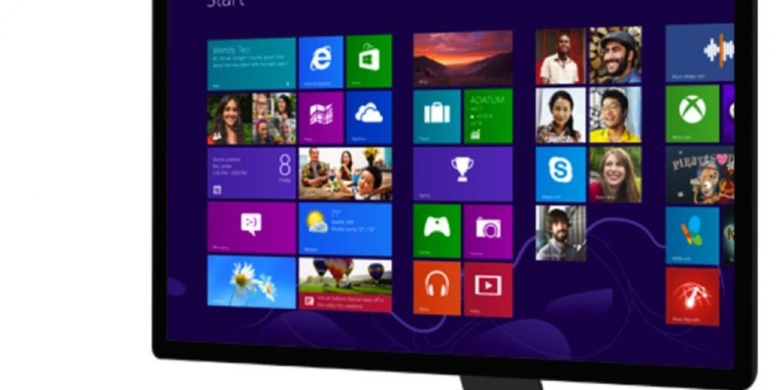 Windows 8 llegó para todos los dispositivos de Microsoft. El nuevo diseño y la innovación de aplicaciones por paneles modernizó el sistema operativo Foto:windows.microsoft.com