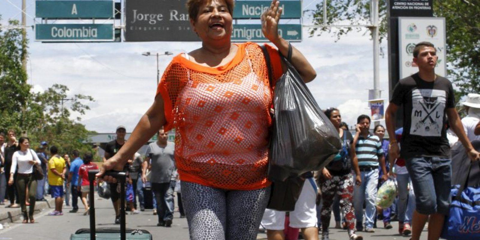 """""""El gobierno defenderá con firmeza a sus ciudadanos, pero esa firmeza requiere la sabiduría y la prudencia de la diplomacia""""; explicó el presidente Santos Foto:AFP"""