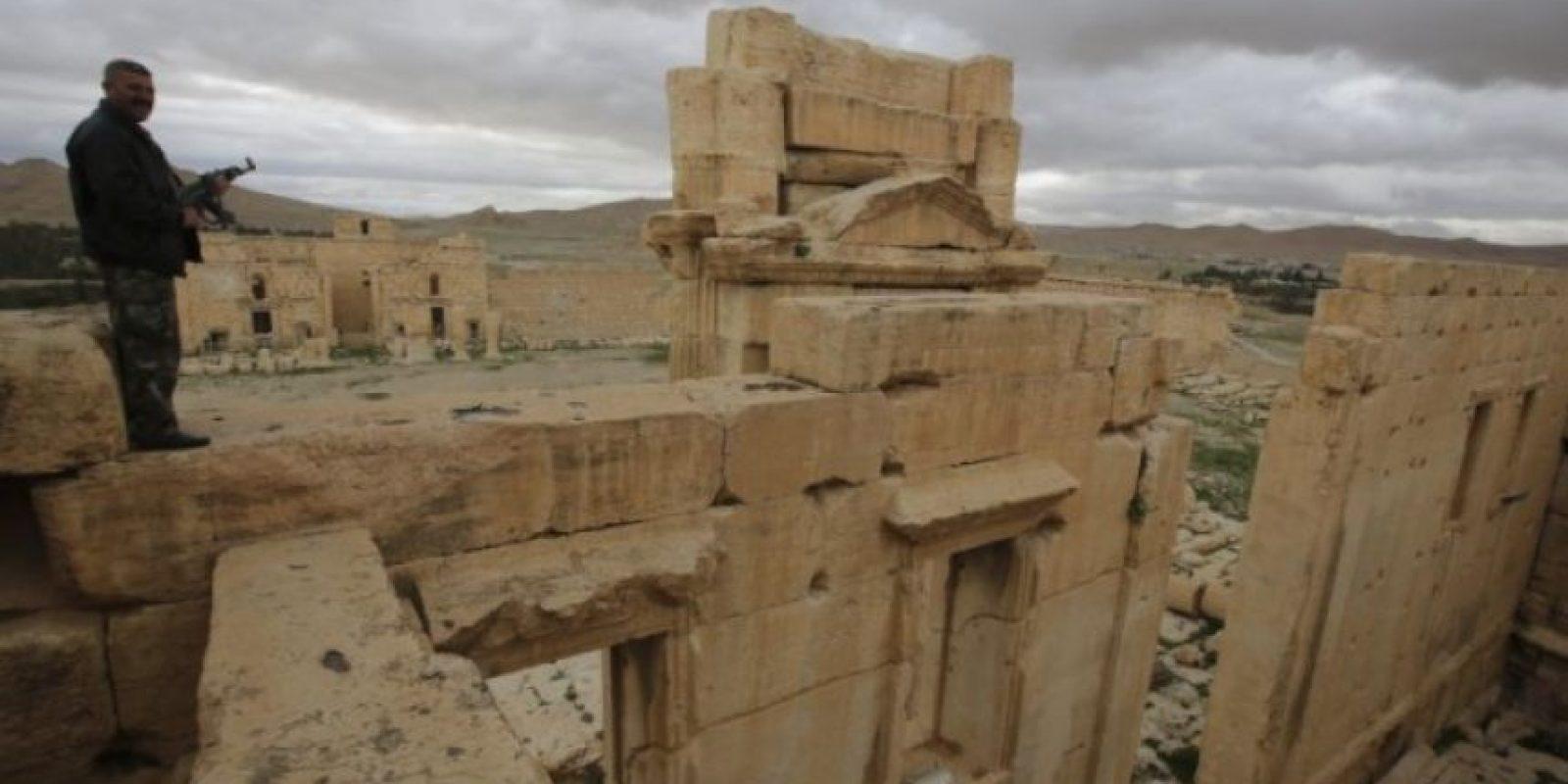 7 datos sobre Palmira, la histórica ciudad que ha comenzado a destruir ISIS Foto:AFP