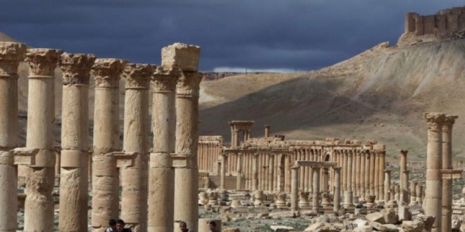 3. Palmira tiene más de dos mil años de antigüedad. Foto:AFP