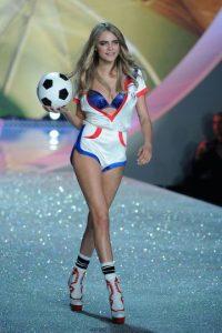 """Cara destacó por haber sido uno """"ángel"""" de """"Victoria's Secret"""" Foto:Getty Images"""