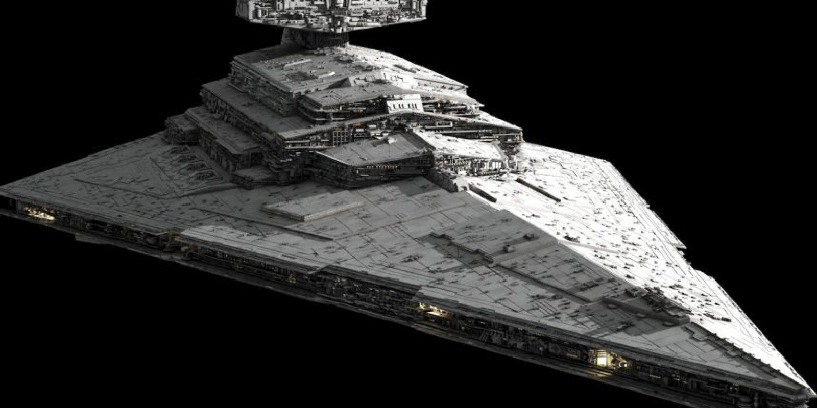 "Se trata del ""Star Destroyer"" Foto:Lucasfilms"