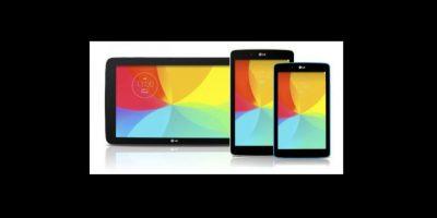 La primera tablet de este tipo tiene un procesador Qualcomm Snapdragon 800 de cuatro núcleos a 2.26 GHz Foto:LG