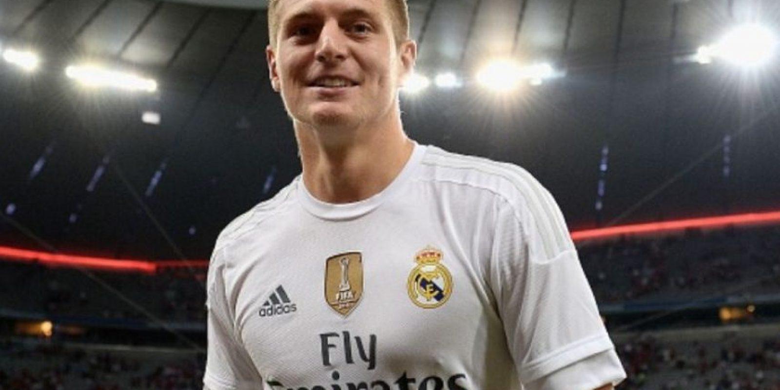 El alemán juega en el Real Madrid de España. Foto:Getty Images