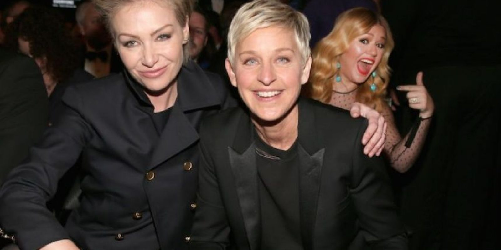 Ellen DeGeneres; Portia de Rossi Foto:Getty Images