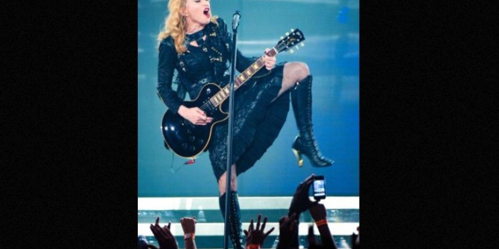 Madonna lució sus encantos en Estambul y Francia Foto:Getty Images