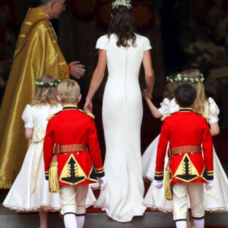 Llamó fuertemente la atención en la boda real Foto:Getty Images