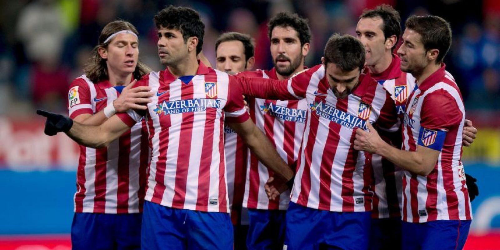 Clasificaron a las Champions League como tercer lugar de la Liga de España. Foto:Getty Images