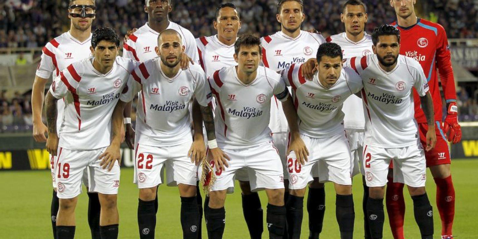 Son el primer equipo en la historia que se clasifica a la Champions League como campeón de la Europa League. Foto:Getty Images