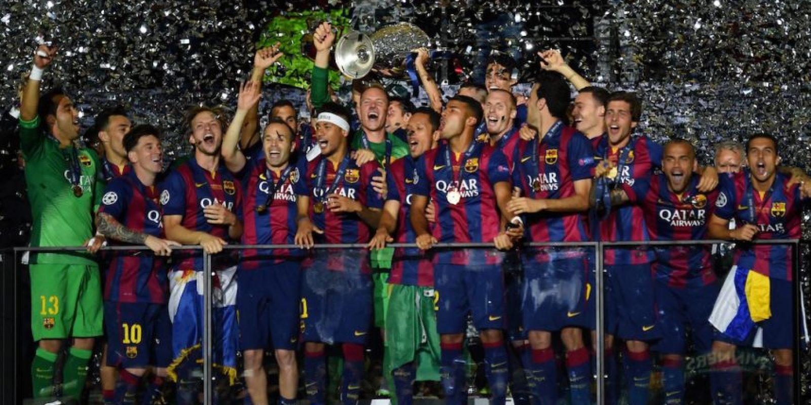 Clasificó por ser el campeón de España. Además, son los vigentes monarcas de la Champions League. Foto:Getty Images