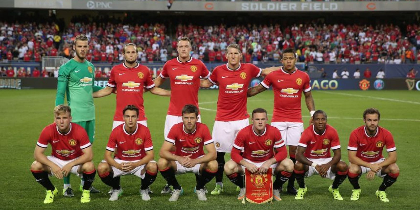 Manchester United (Inglaterra) Foto: Getty Images