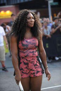 La mejor tenista de la actualidad, Serena Williams, brilló en Manhattan. Foto:Getty Images