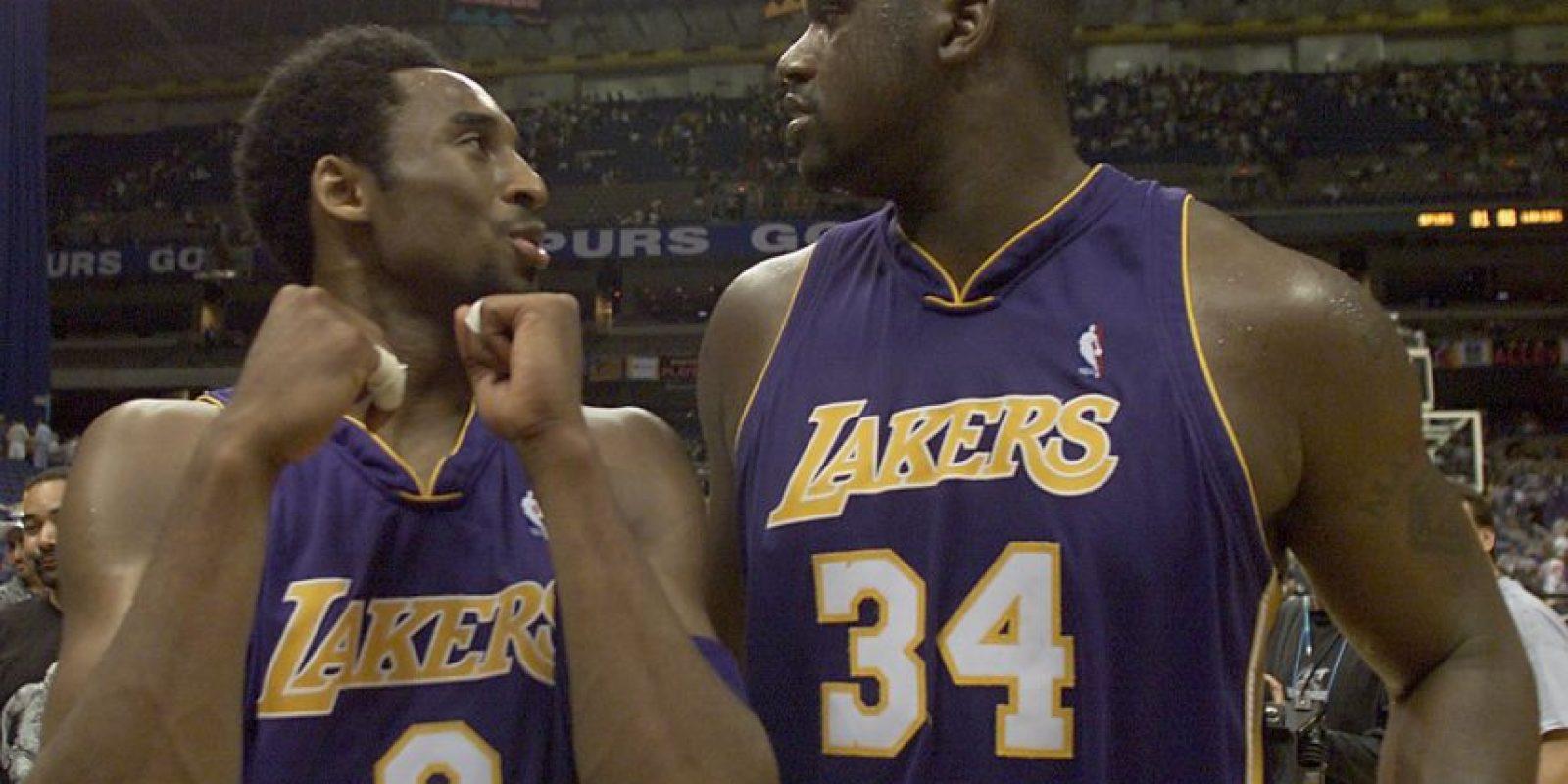 Comenzaron a jugar juntos en la temporada 1996. Foto:Getty Images