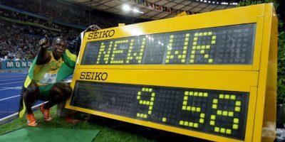 Medalla de Oro en el Mundial de Atletismo 2009 en 100 metros planos. Foto:Getty Images