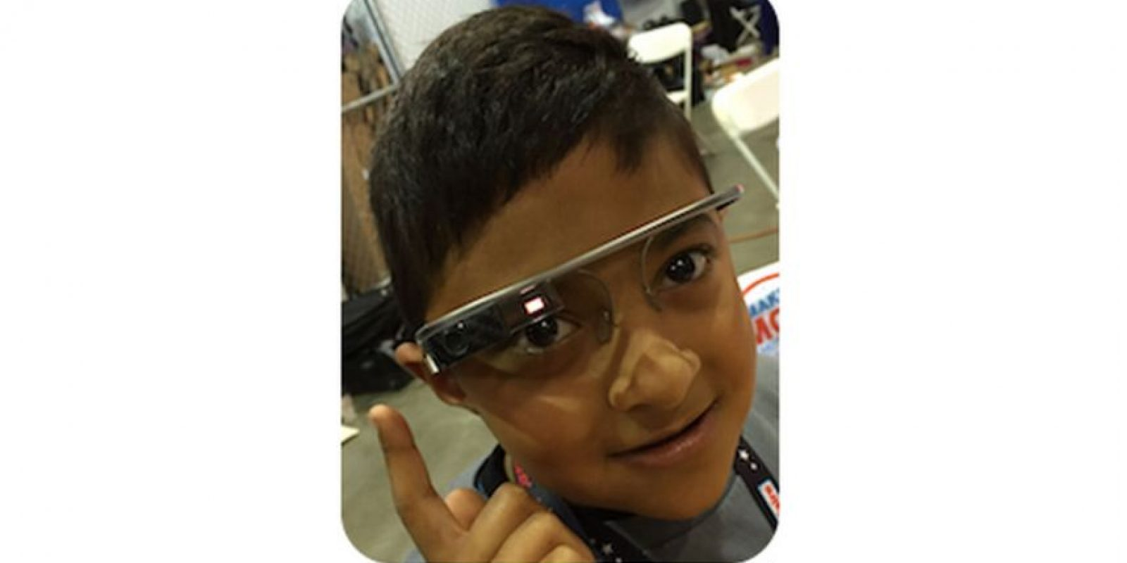 El es Omkar, es el creador del reloj para niños, solo tiene ocho años Foto:O Watch/Kickstarter