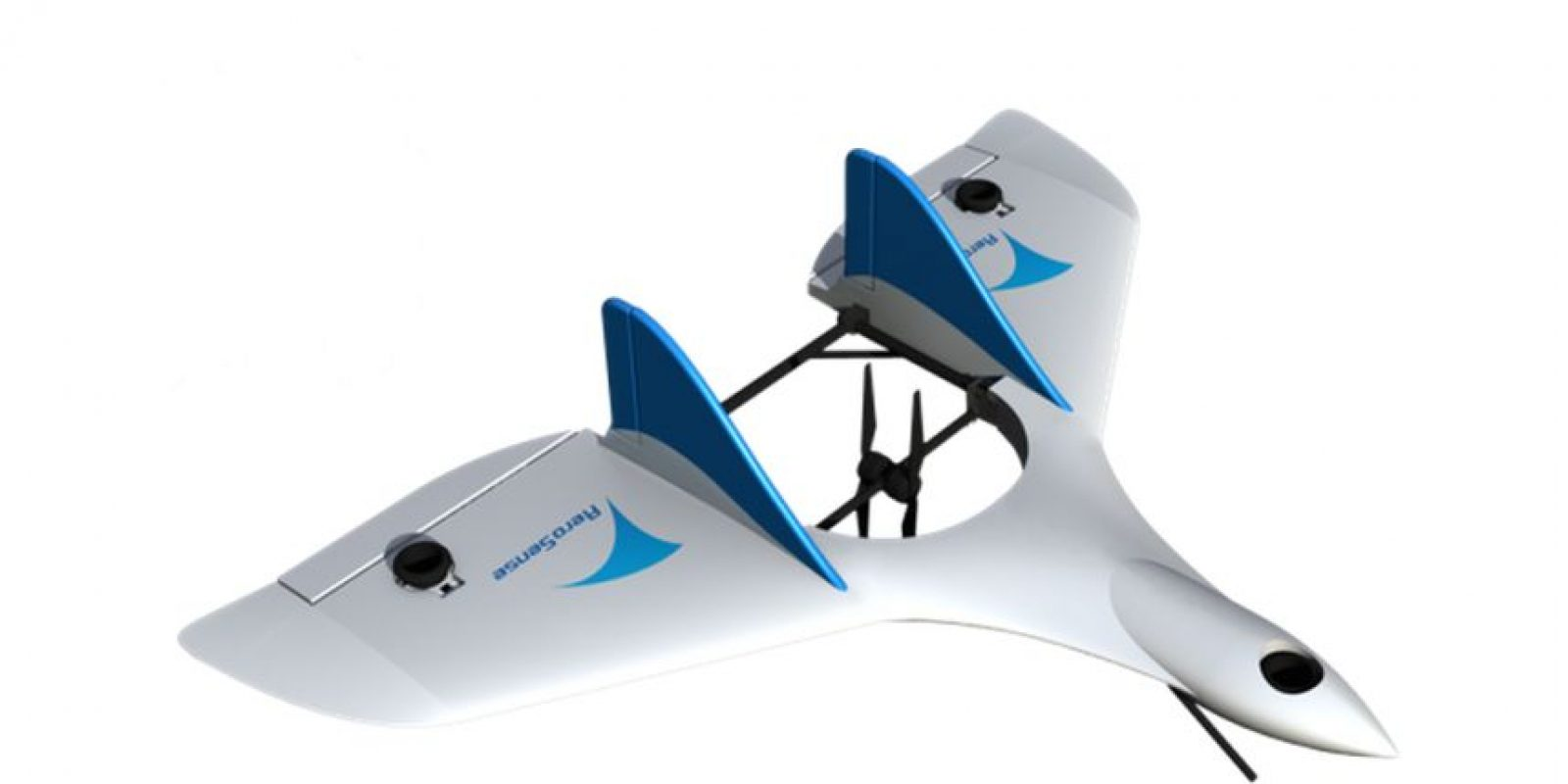 Esta basado en un modelo de la compañía Aero Sense Foto:Aereo Sense