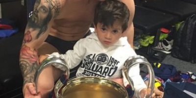 Video: Leo Messi comparte una tarde familiar con su hijo y su mascota