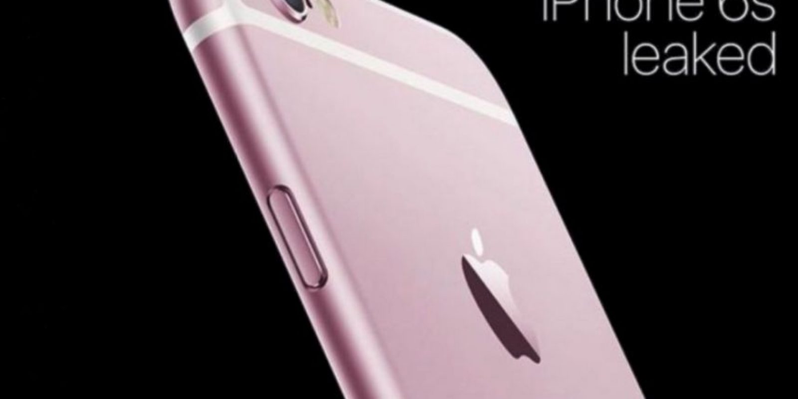 Los rumores dicen que podría estar disponible en color rosa Foto:Twitter