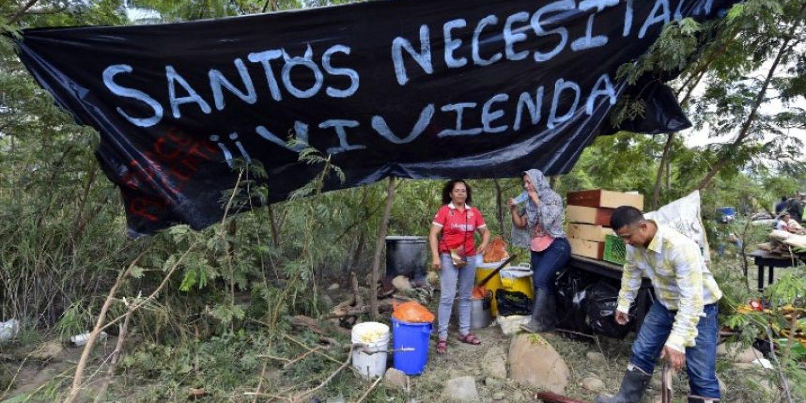 Mientras 369 se han trasladado a sus ciudades de origen en Colombia. Foto:AFP
