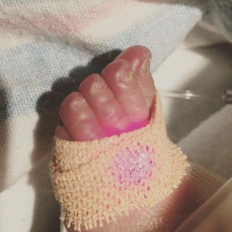 El pequeño nació el pasado martes. Foto:vía instagram.com/danielle_milian
