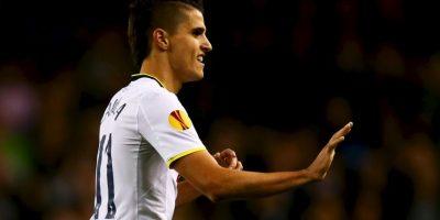 5. Gol de Erik Lamela (Tottenham) a Asteras Tripoli. Foto:Getty Images