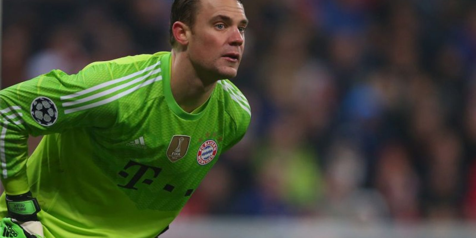2. Manuel Neuer (Bayern Munich) ante AS Roma. Foto: Getty Images