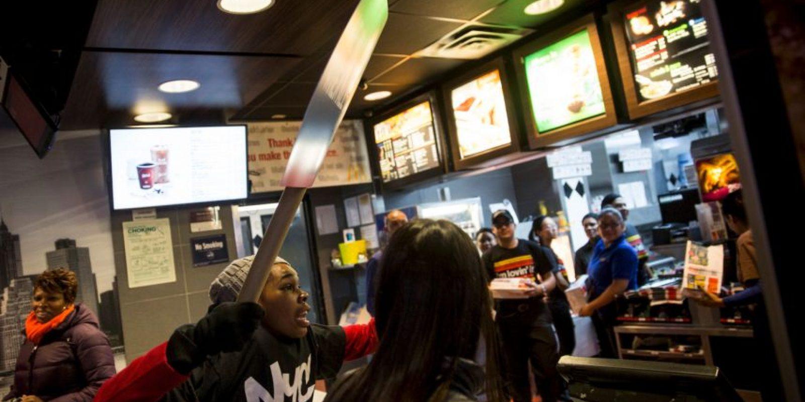 """A pesar de la negativa del rey del """"Big Mac"""", este no se negó a trabajar en otros proyectos con el dueño del 'Whopper'. Foto:Getty Images"""