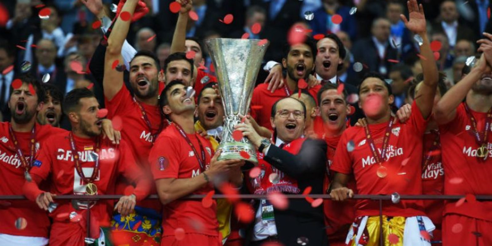 Son bicampeones de la Europa League Foto: Getty Images