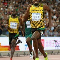 Medalla de Oro en el Mundial de Atletismo 2015 en 200 metros planos. Foto:Getty Images