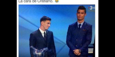 Y Lionel Messi volvió a coronarse. Foto:Vía twitter.com
