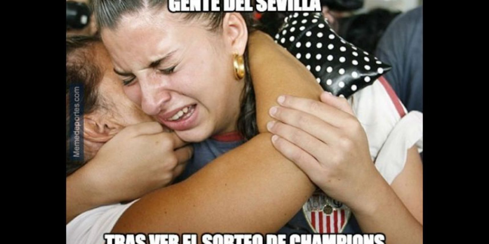 Y pobre Sevilla. Foto:memedeportes.com
