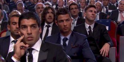 """La """"Pulga"""" superó a Luis Suárez y Cristiano Ronaldo, los otros nominados. Foto:UEFA"""